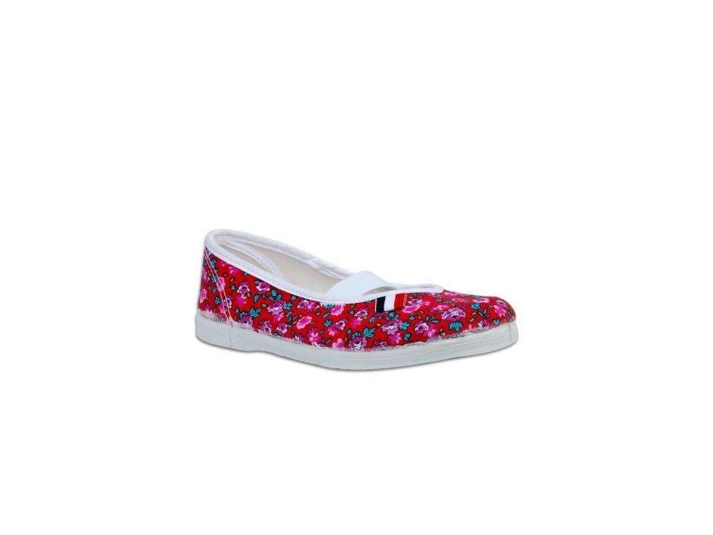 Cvičky jarmilky červený květ Toga