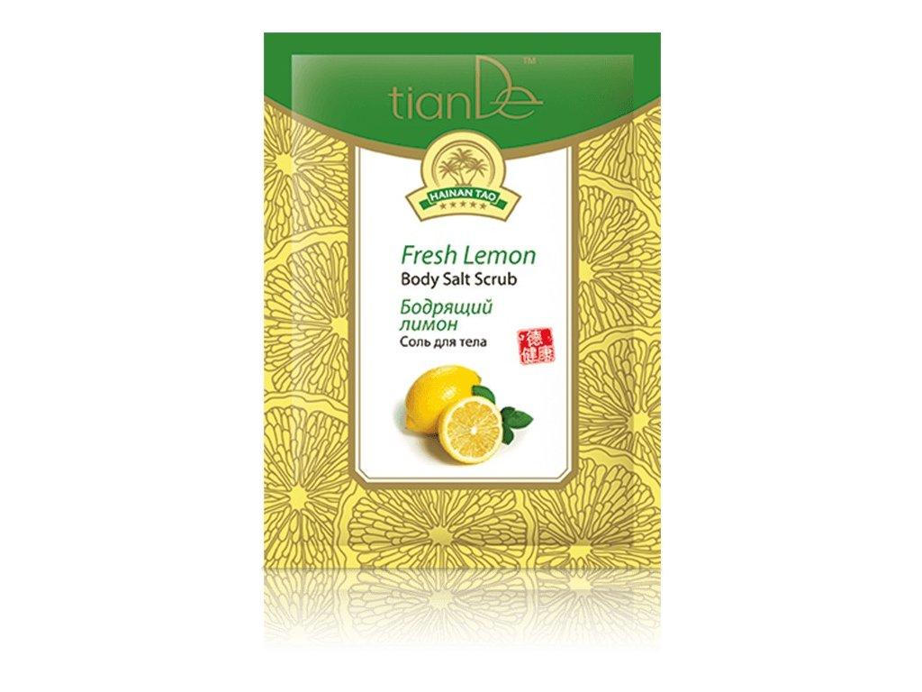 Tělová sůl Svěží citrón