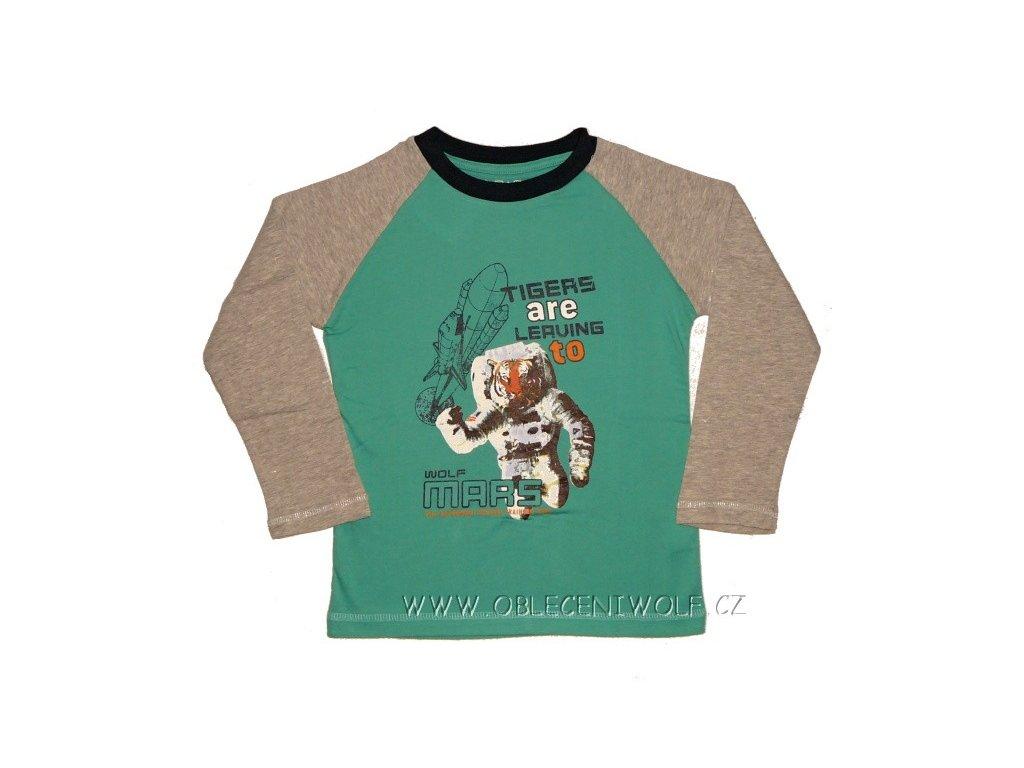 Tričko chlapecké dlouhý rukáv 104-134
