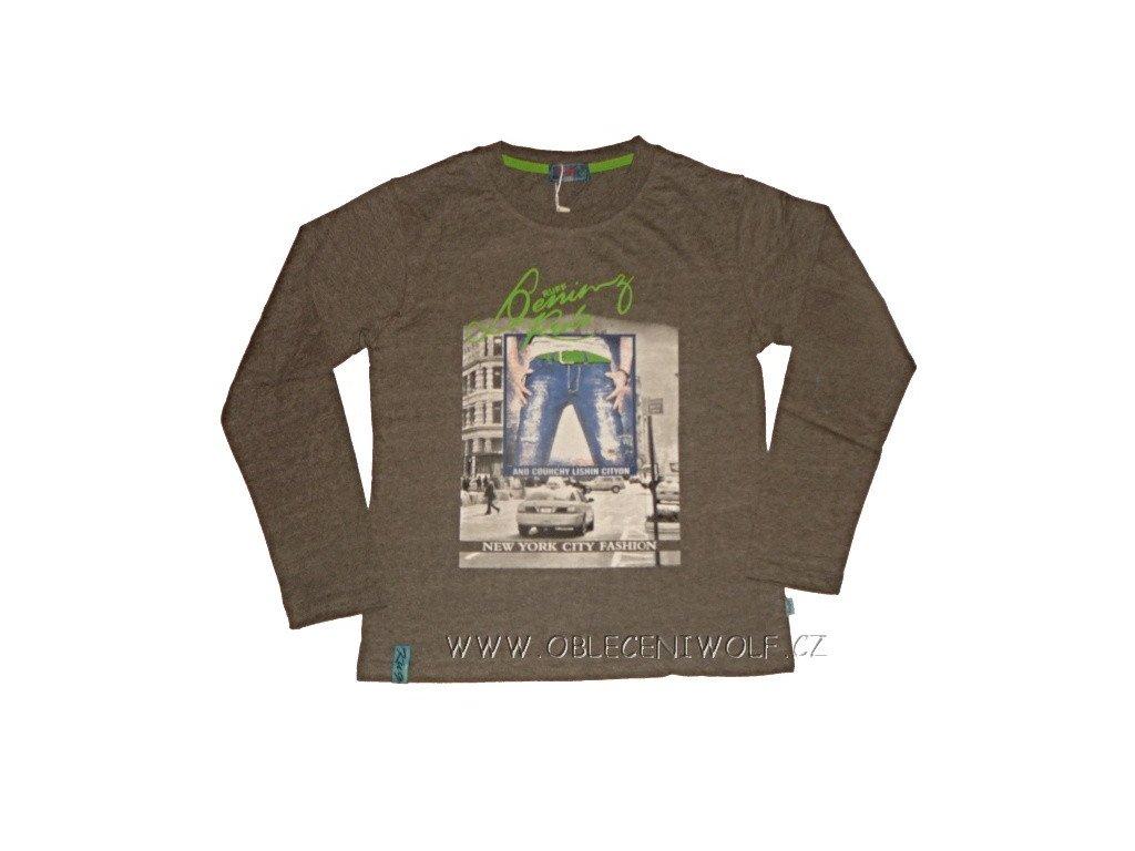 Chlapecké šedé tričko 116-146