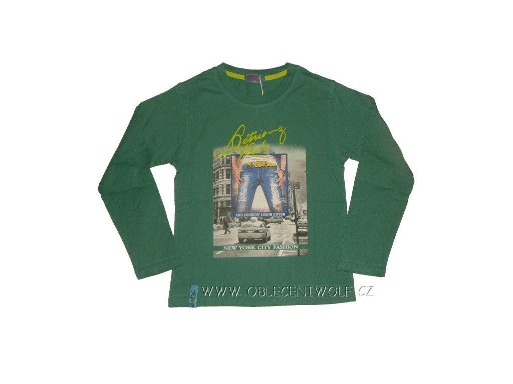 Chlapecké zelené tričko 116-146