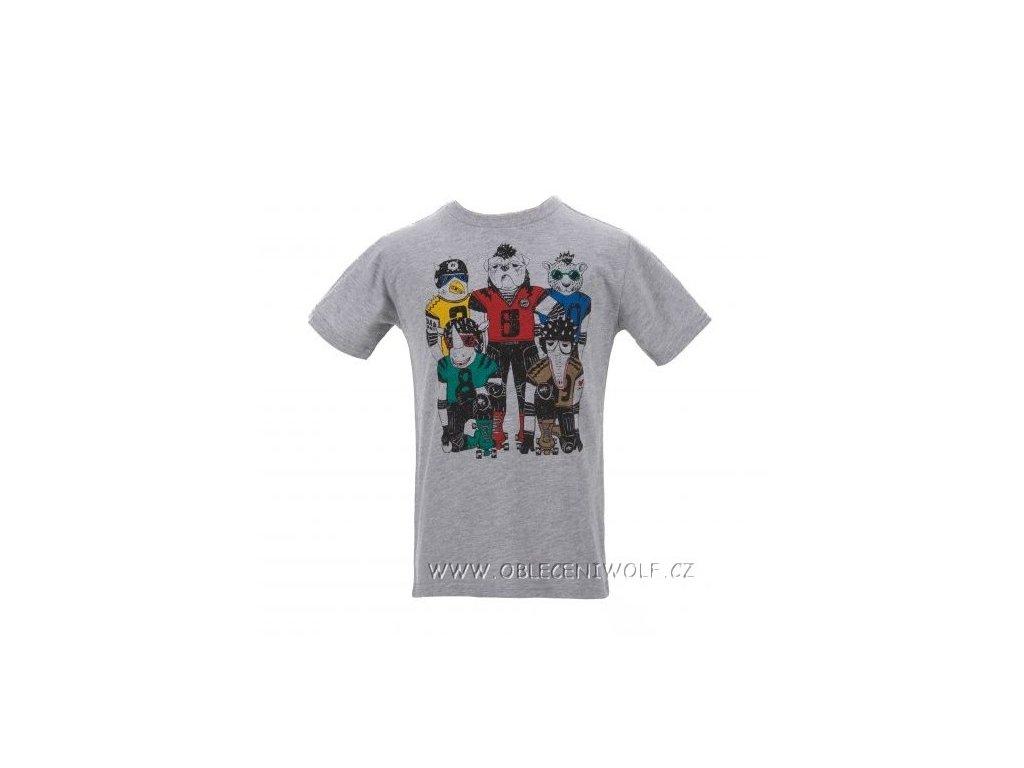 Chlapecké šedé tričko S2601 vel. 104
