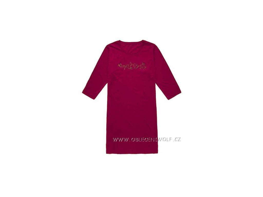 Dámská noční košile, maxitriko
