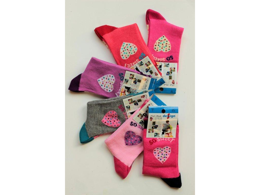 35-37 dětské ponožky Design Socks 11