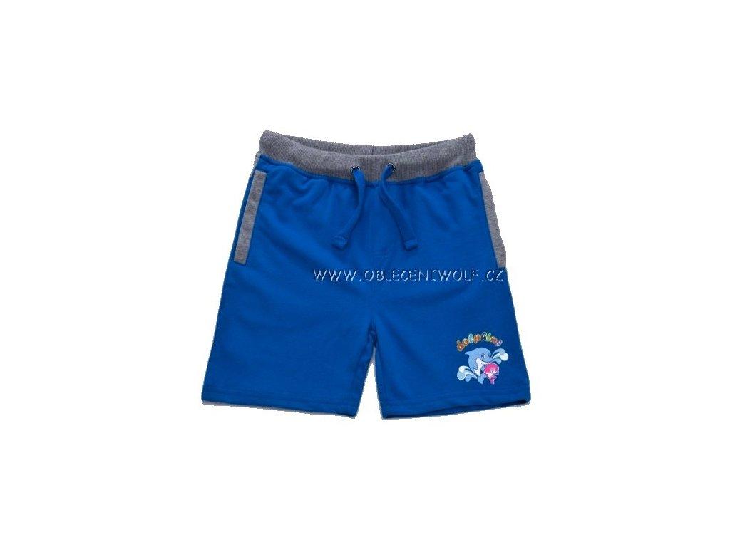 WOLF chlapecké modré kraťasy 98-128