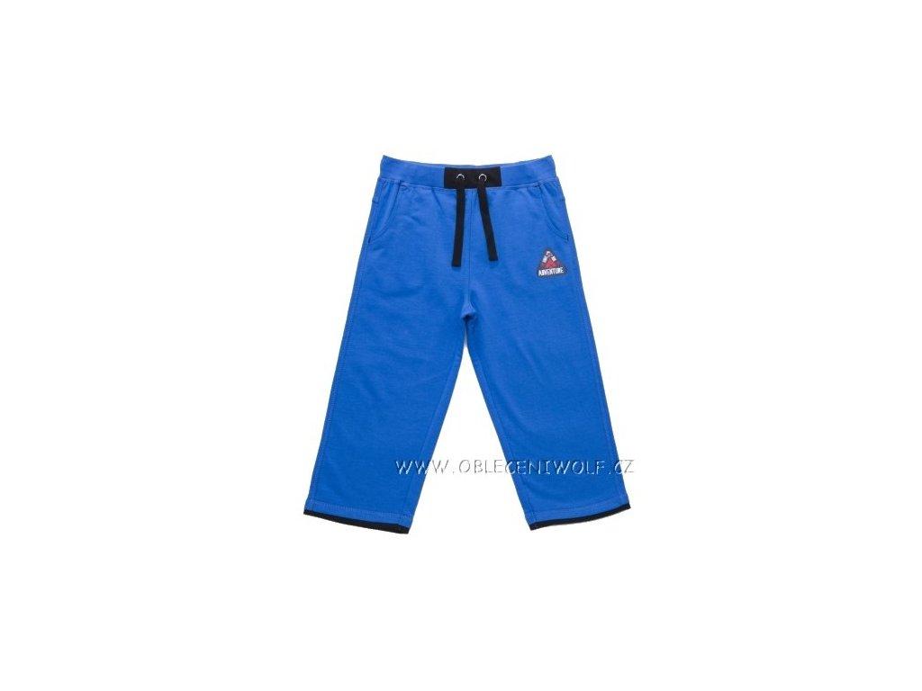 WOLF chlapecké 3/4 tepláky modré vel. 98, 116