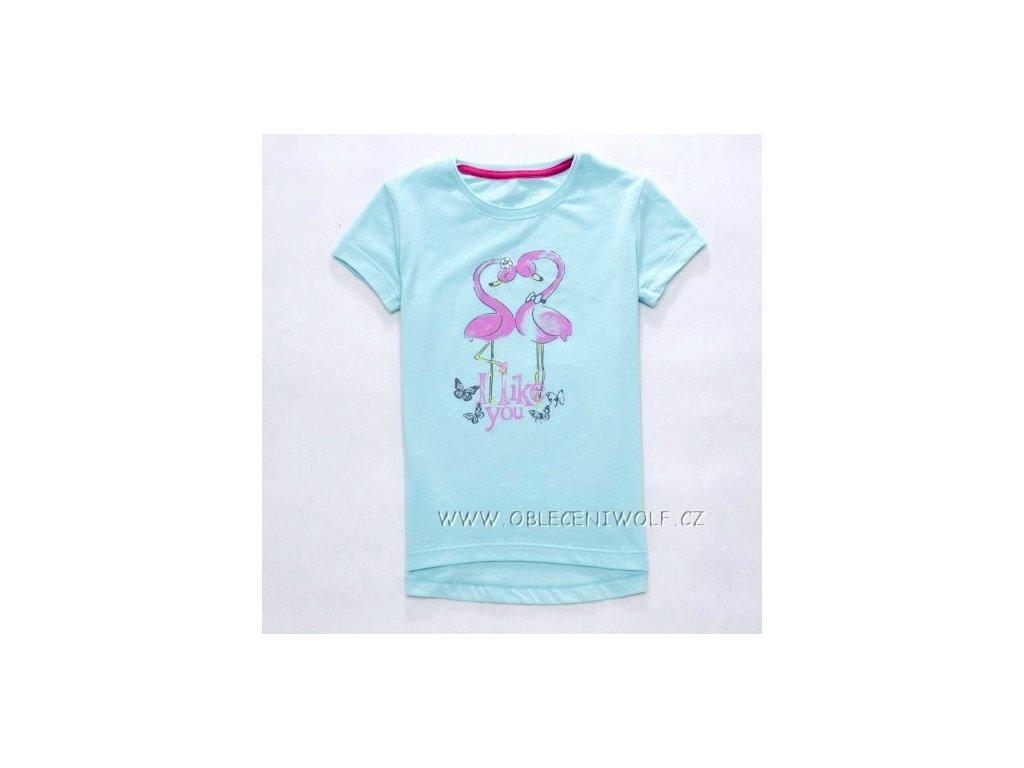 WOLF dívčí sv. modré tričko S2710 vel. 98