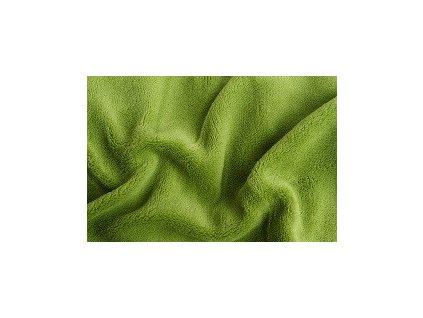 Prostěradlo z mikroflanelu SLEEP WELL 180x200 cm-kiwi