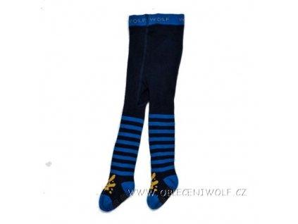 WOLF Dětské punčocháče s protiskluzem vel. 62-92 modré