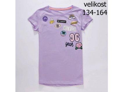 WOLF dívčí tričko fialové S2814 vel. 134-164