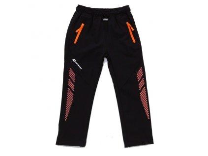 WOLF softshellové nezateplené kalhoty černé B2986 vel. 98-128