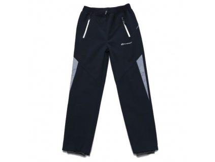 WOLF softshellové nezateplené kalhoty šedé B2985 vel. 152-170