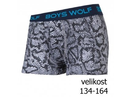 WOLF chlapecké boxerky/trenky/trenkoslipy L2982 vel. 134-164