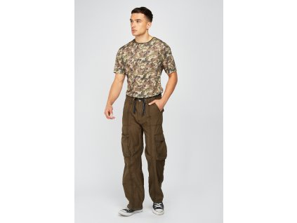 classic fit combat trousers khaki 114527 4
