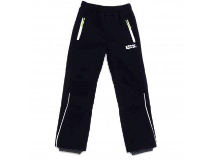 Chlapecké zateplené softshellové kalhoty tmavě modré Wolf B2994A vel. 116-146