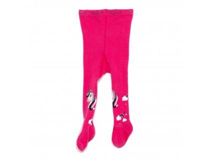Dívčí punčocháče růžové Wolf P2910 vel. 62-92
