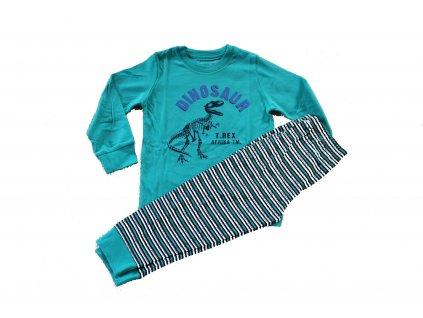 Chlapecké pyžamo zelené Wolf S2955 vel. 104-134
