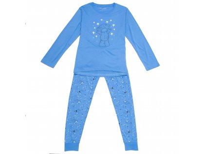 Dámské pyžamo modré Wolf D2944