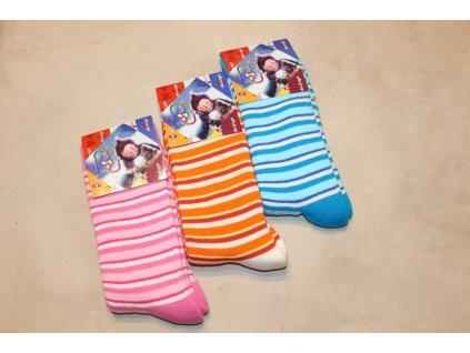 35-37 dětské froté ponožky Design Socks 11