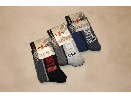 23-25 dětské froté ponožky Design Socks 3