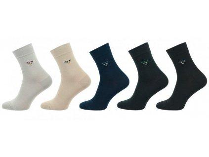 Ponožky comfort trojúhelníky 1011 - 5 párů
