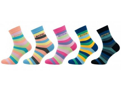 Ponožky comfort active 1013 - 5 párů