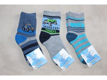 Chlapecké thermo ponožky 3 ks