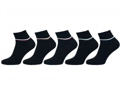 Ponožky vyšší lem 1101 - 5 párů