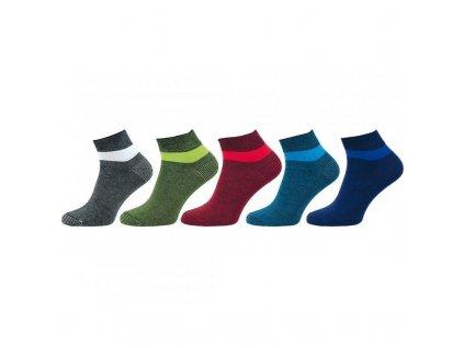 Ponožky vyšší lem 1102 - 5 párů