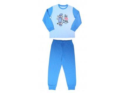 S2167 chlapecké bavlněné pyžamo Wolf