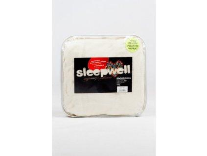 Prostěradlo z mikrovlákna SLEEP WELL 180x200 cm