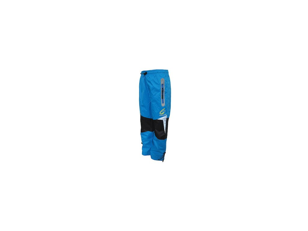 dětské šusťákové kalhoty s bavlněnou podšívkou- vel. 98-164