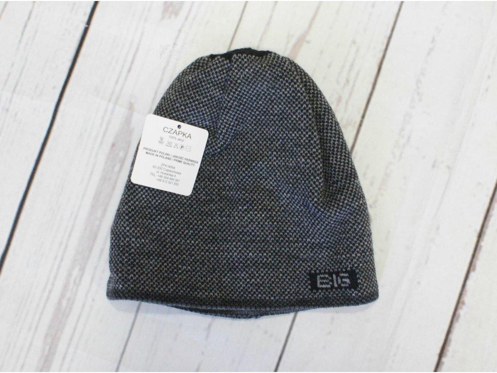 dětská zimní čepice 7-10 let