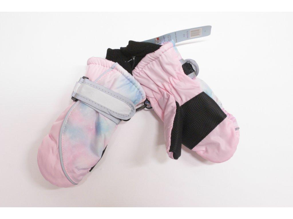 dětské nepromokavé rukavice- palčáky 3-6 let