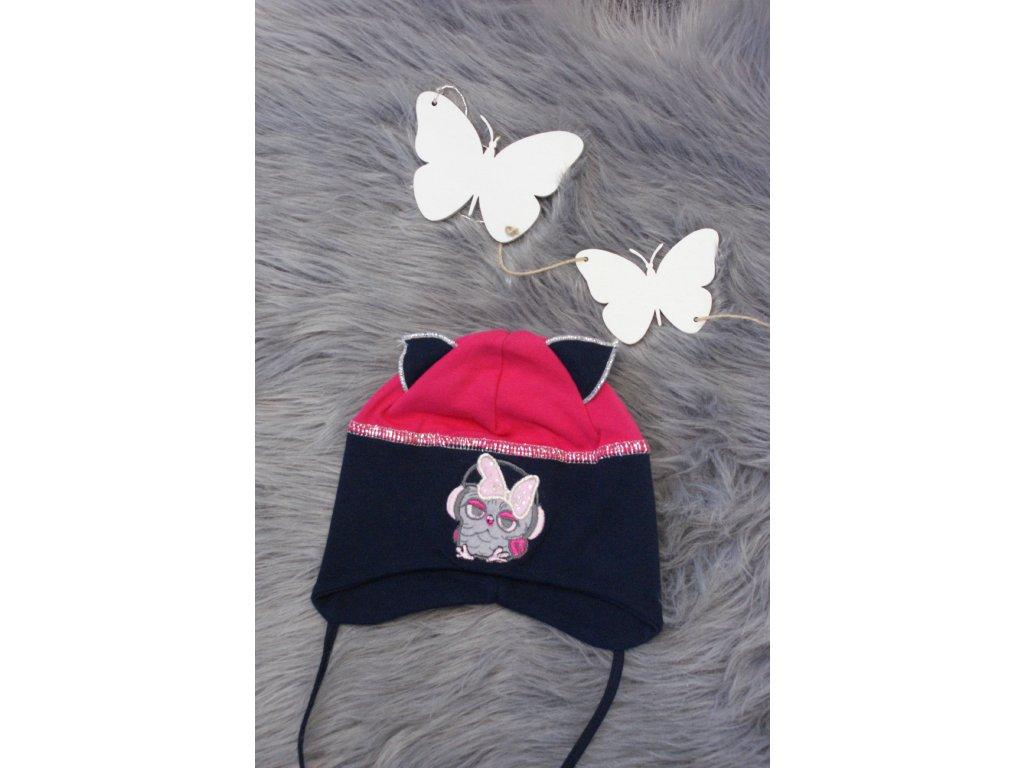 dětská přechodová čepice vel. 1-3 roky