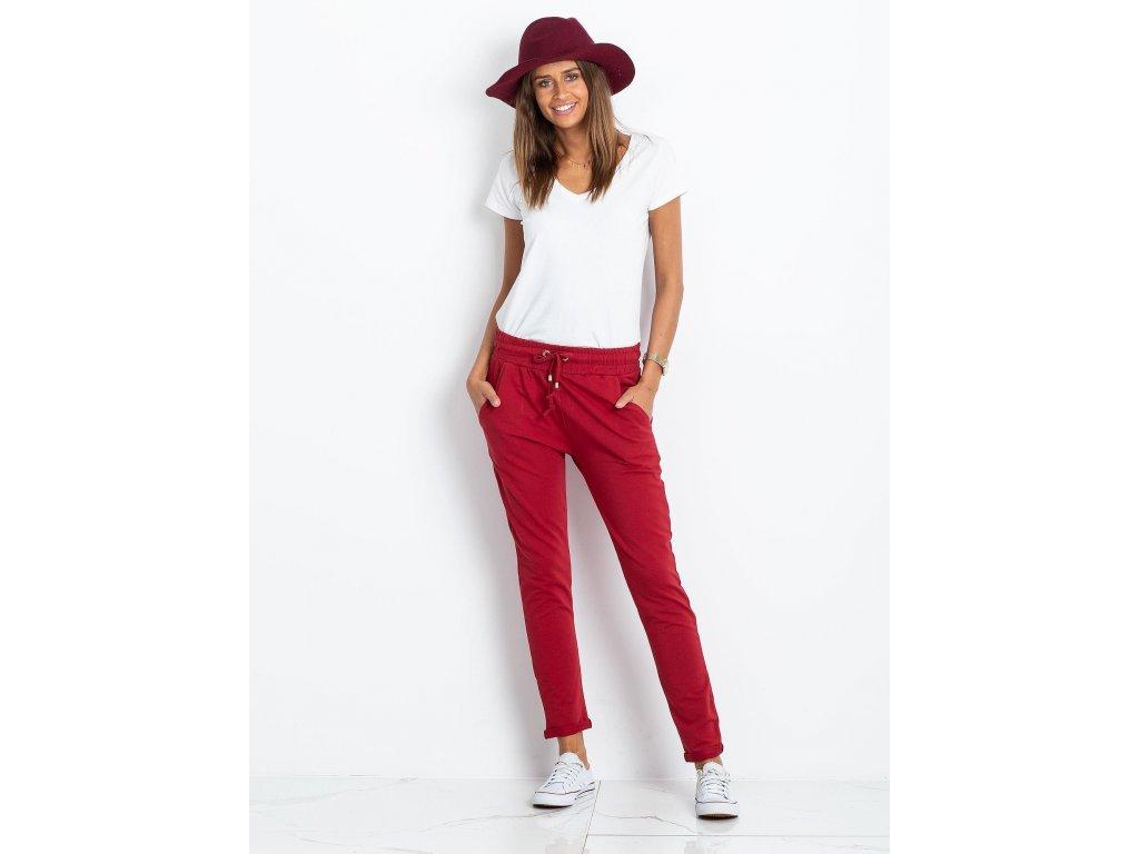pol pl Bordowe spodnie Cadence 328230 4