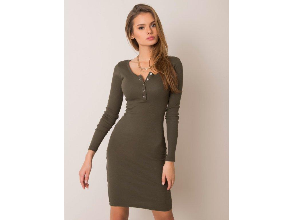pol pl Khaki sukienka Mercy RUE PARIS 354811 2