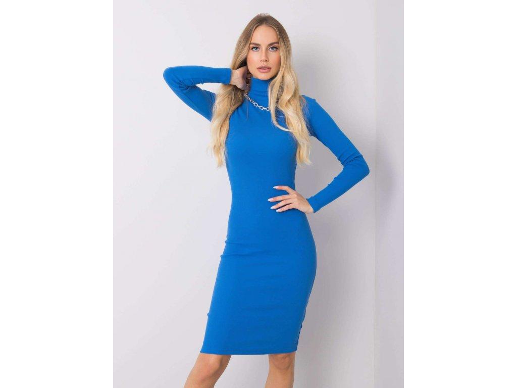 pol pl Niebieska sukienka Livia RUE PARIS 355776 5