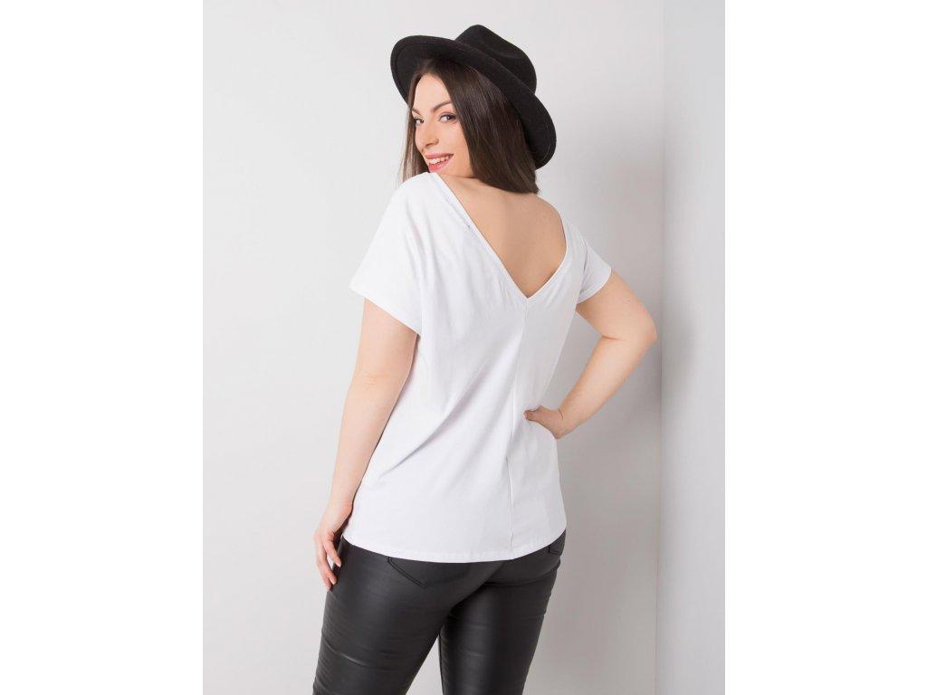 Dámské  tričko -halenka PLUSSIZE