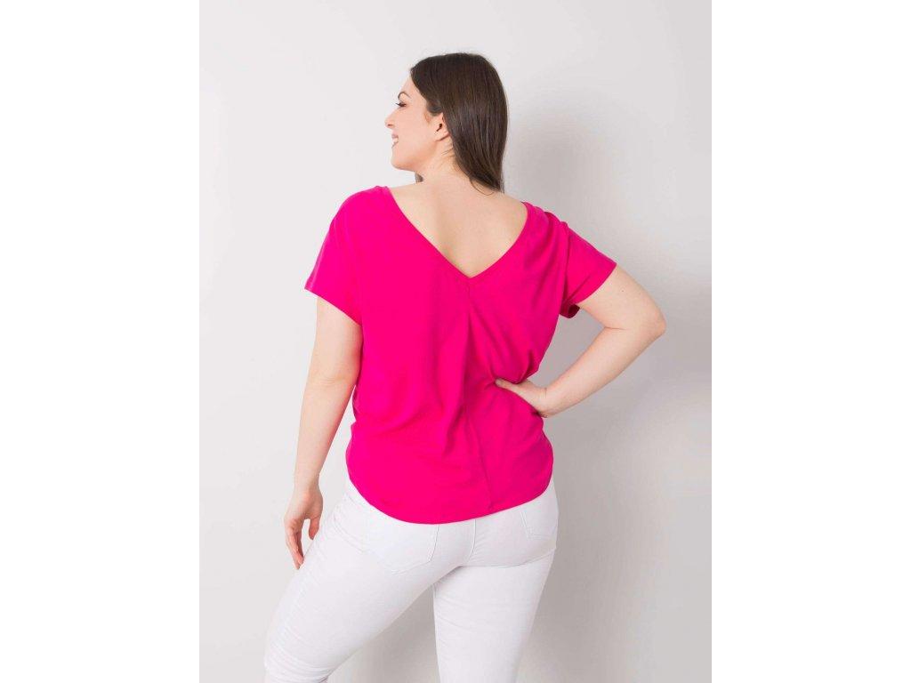 pol pl Fuksjowy t shirt plus size Beverly 361526 1