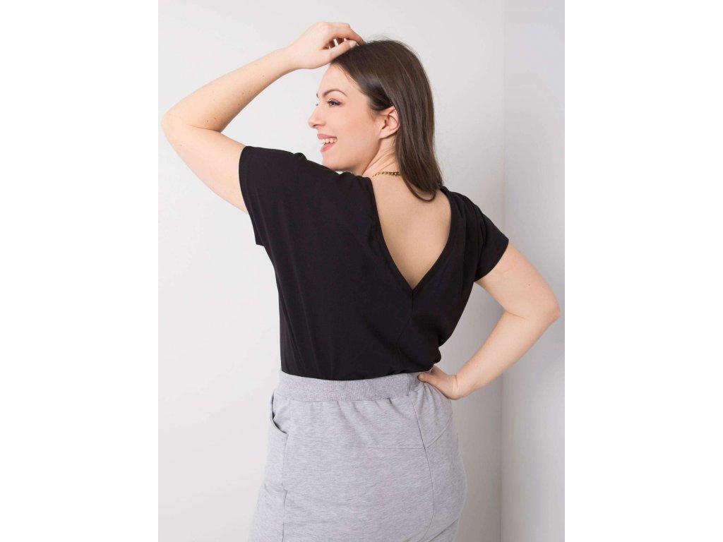 pol pl Czarny t shirt plus size Beverly 361523 1