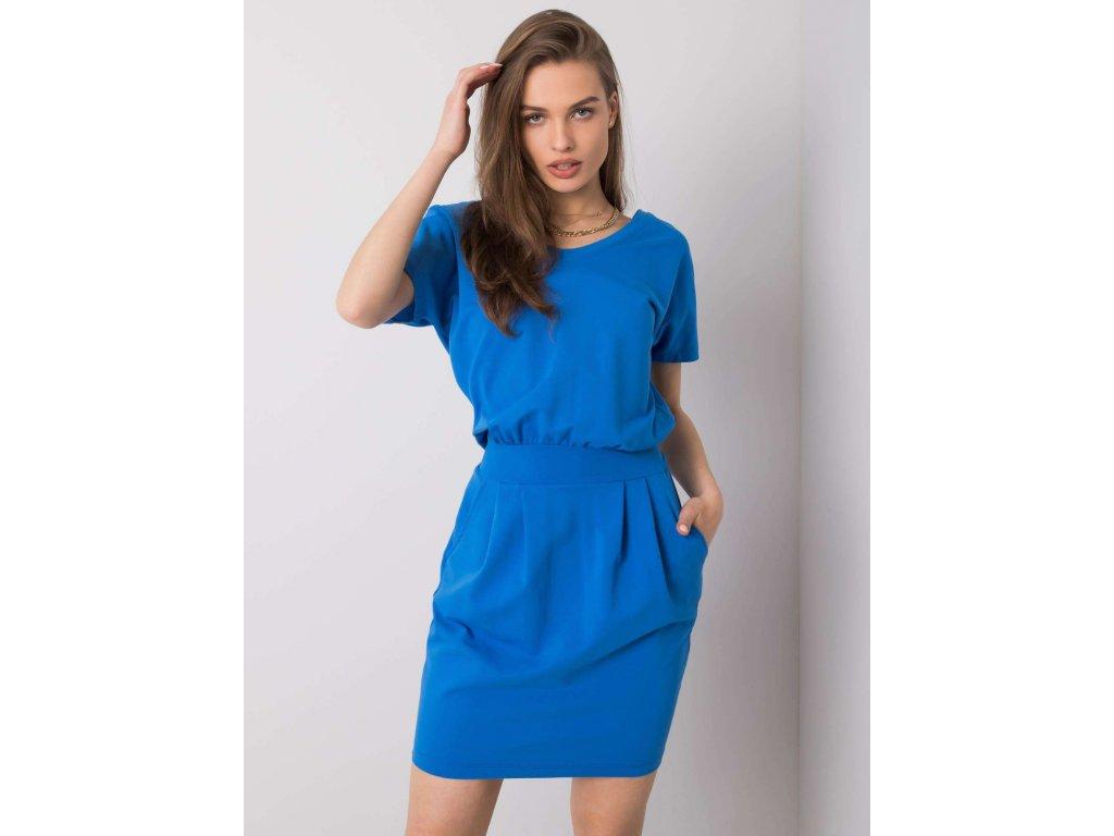 pol pl Ciemnoniebieska sukienka na co dzien Aimee RUE PARIS 362848 1