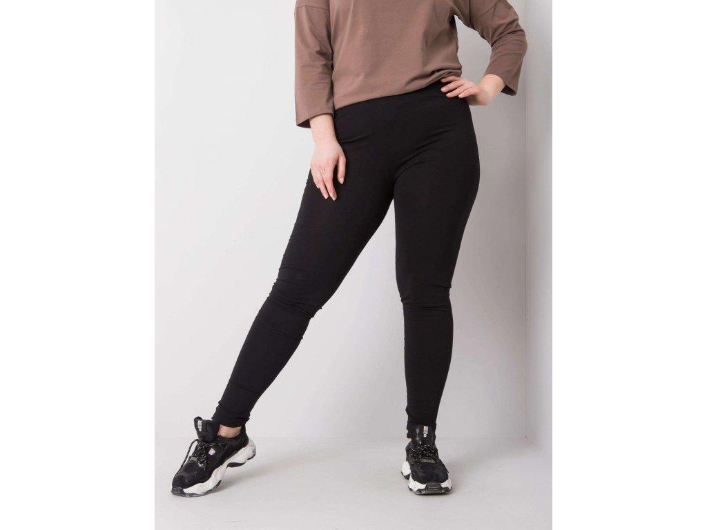 pol pl Czarne legginsy z bawelny plus size Phoebe 360610 2