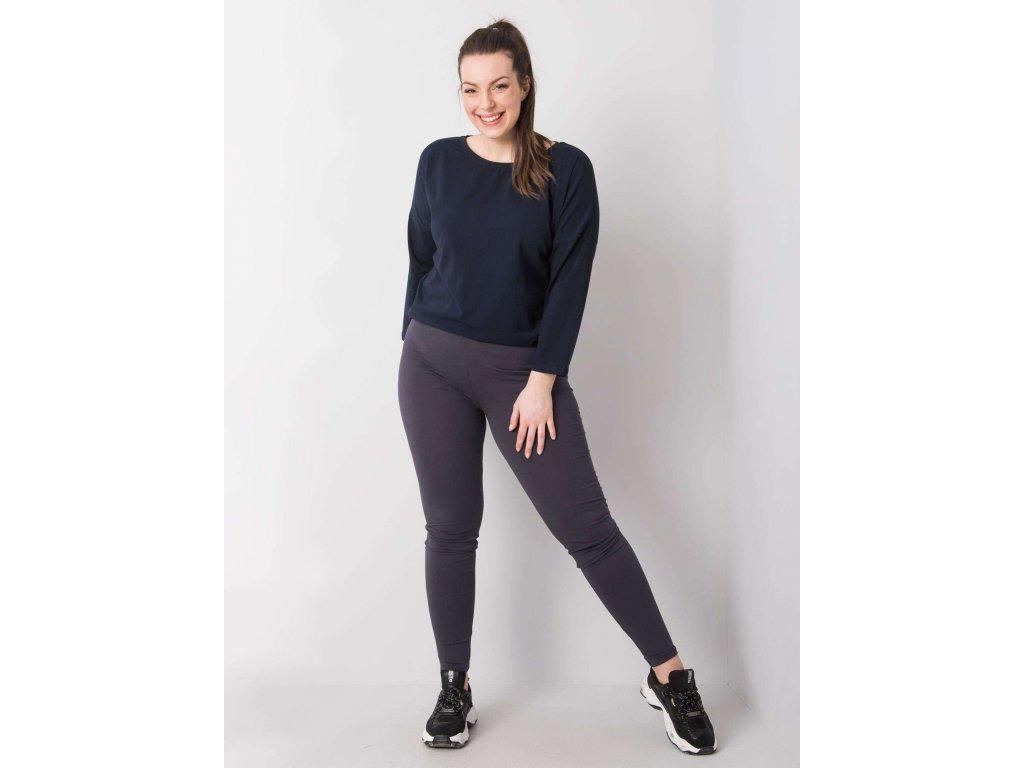 pol pl Grafitowe legginsy z bawelny plus size Phoebe 360612 1