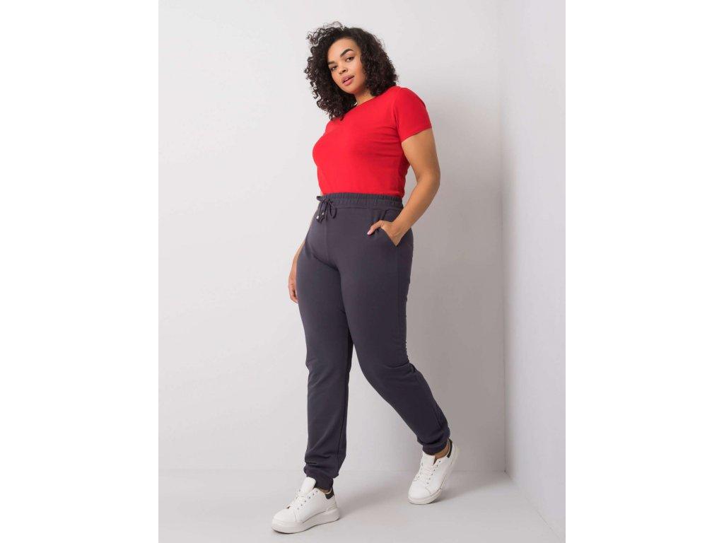 pol pl Grafitowe spodnie dresowe plus size Beatriz 360622 1