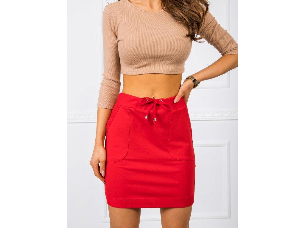 pol pl Czerwona spodnica Evie 346699 1