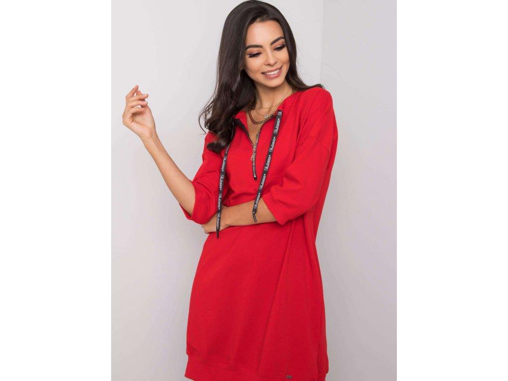 pol pl Czerwona sukienka na co dzien Earnestine 360750 1