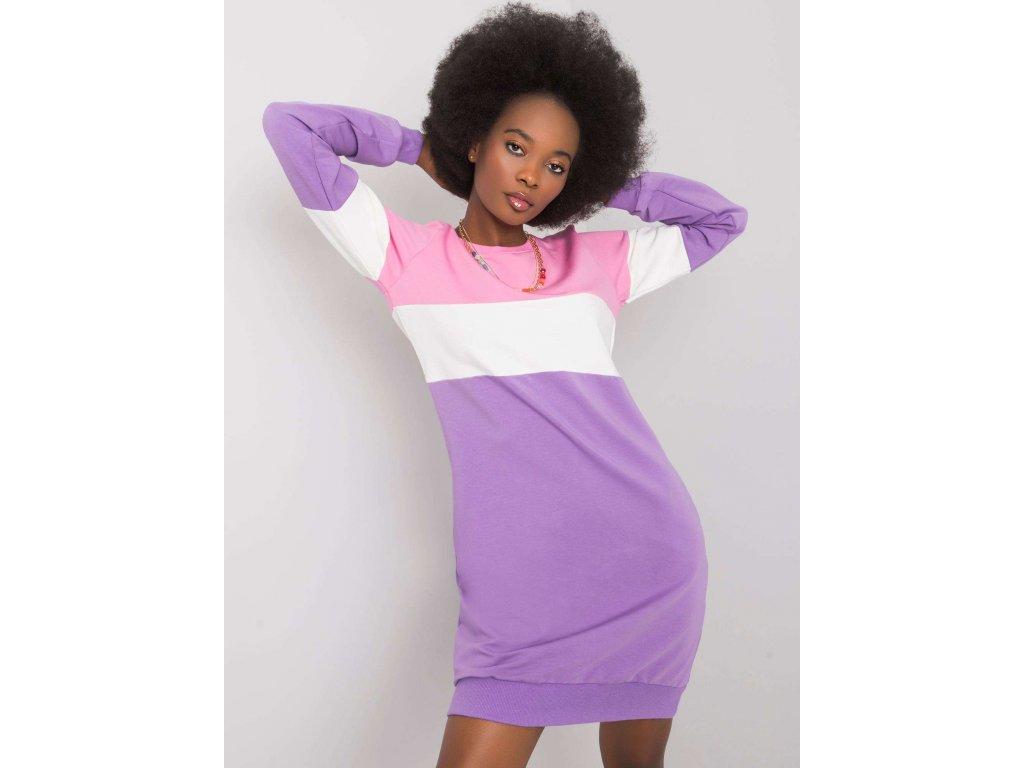 pol pl Fioletowo rozowa sukienka Feliciana RUE PARIS 366335 1