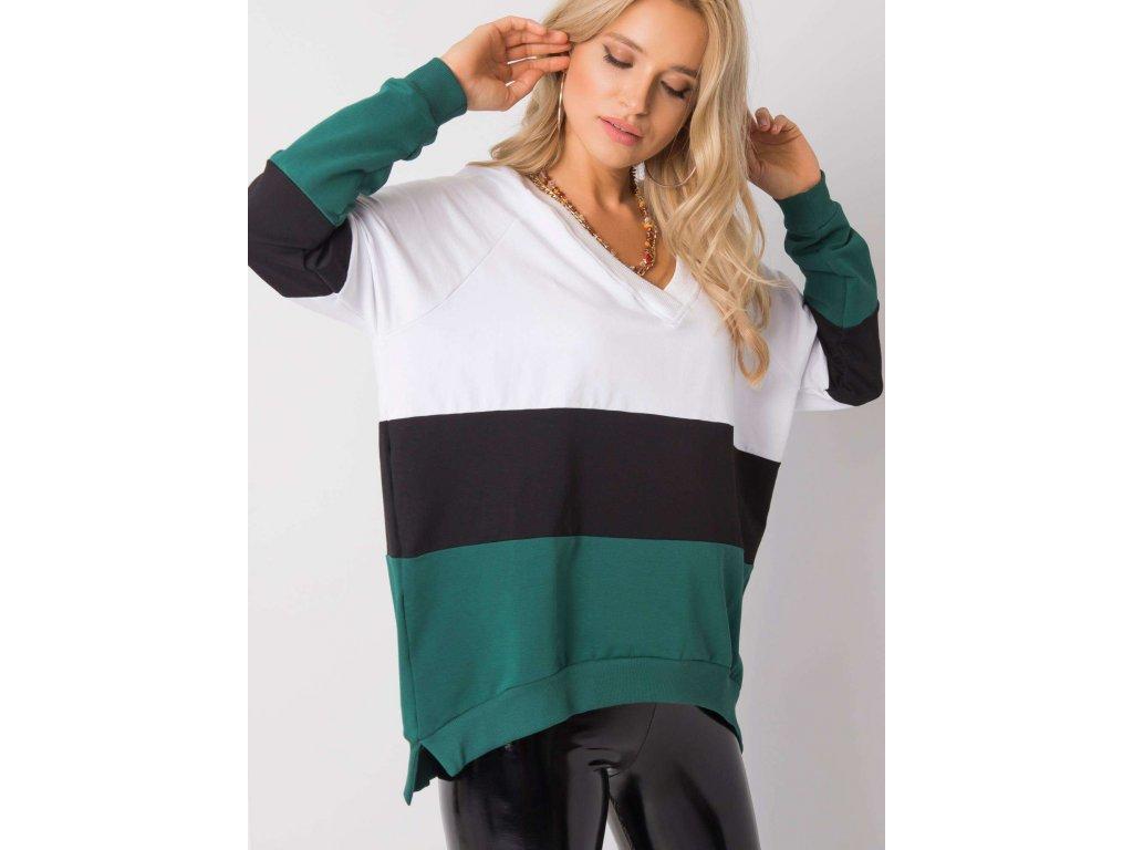 pol pl Bialo zielona bluza Lotta RUE PARIS 355762 1