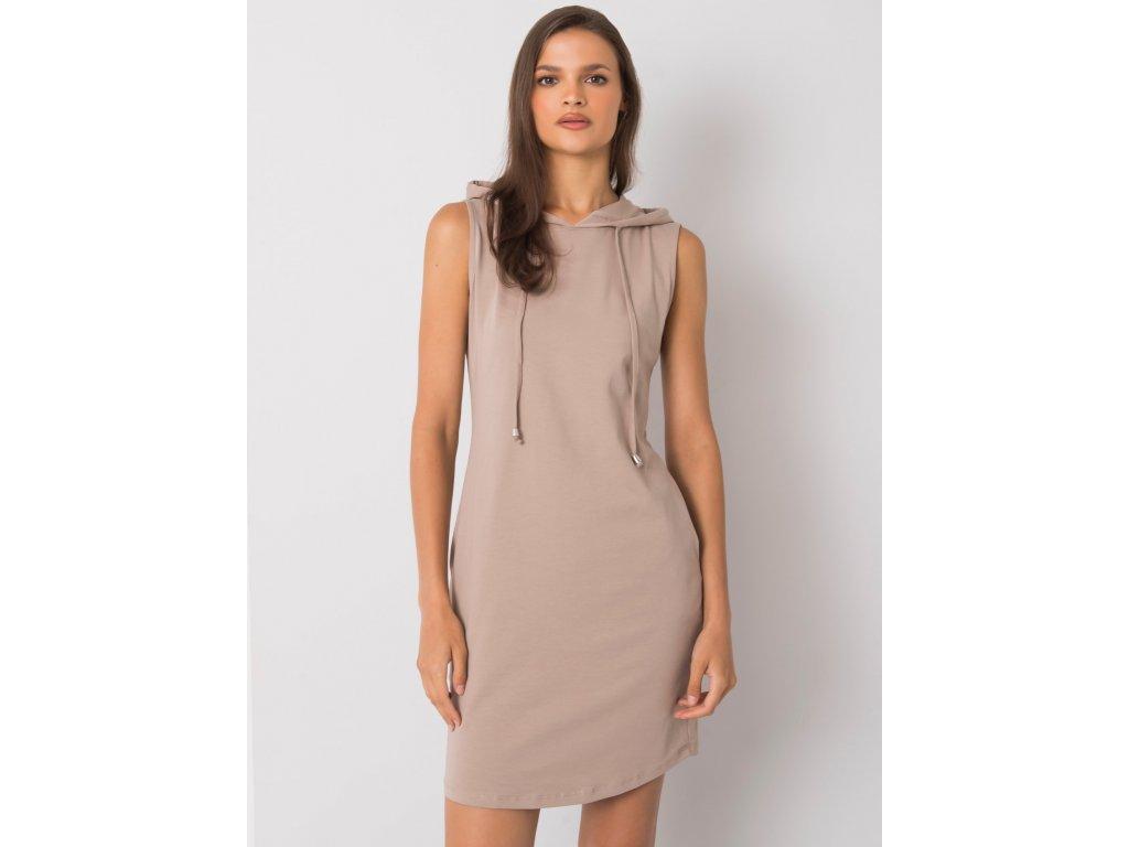 pol pl Ciemnobezowa sukienka Molly RUE PARIS 367381 5